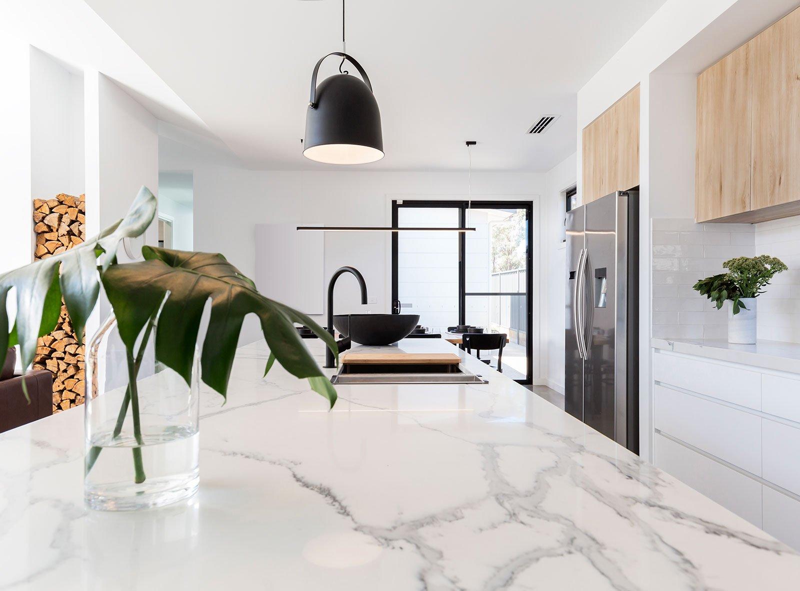 Modergo - comptoir de cuisine en marbre