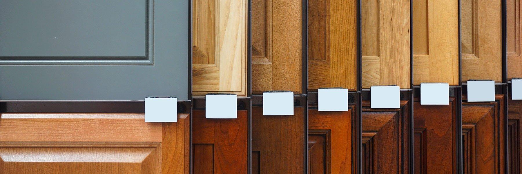 Modergo - Choix de matériaux pour vos armoires de cuisine et salle de bains